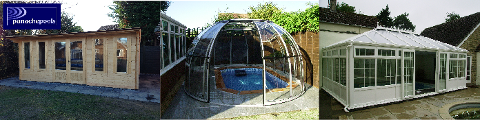 sunhouse enclosure, pool buildings, bespoke pool enclosure
