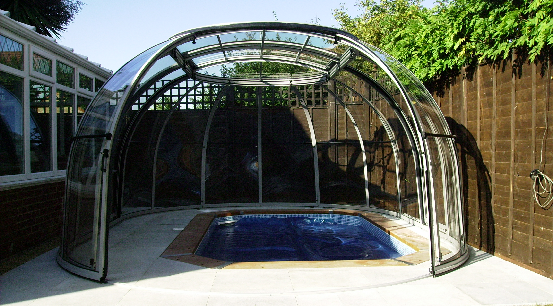 dolphin sport exercise pool and sunhouse enclosure