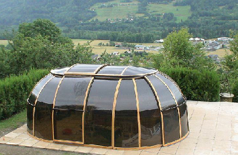 Endless exercise pool and sunhouse enclosure for The sunhouse