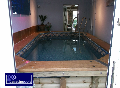 Turn Your Garage Into An Indoor Swimming Pool