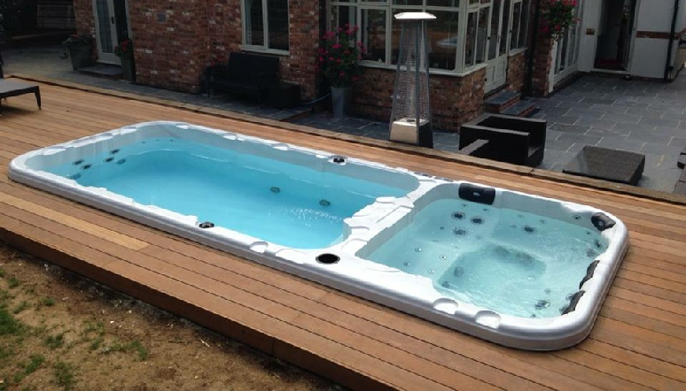 swim spas endless exercise pool. Black Bedroom Furniture Sets. Home Design Ideas